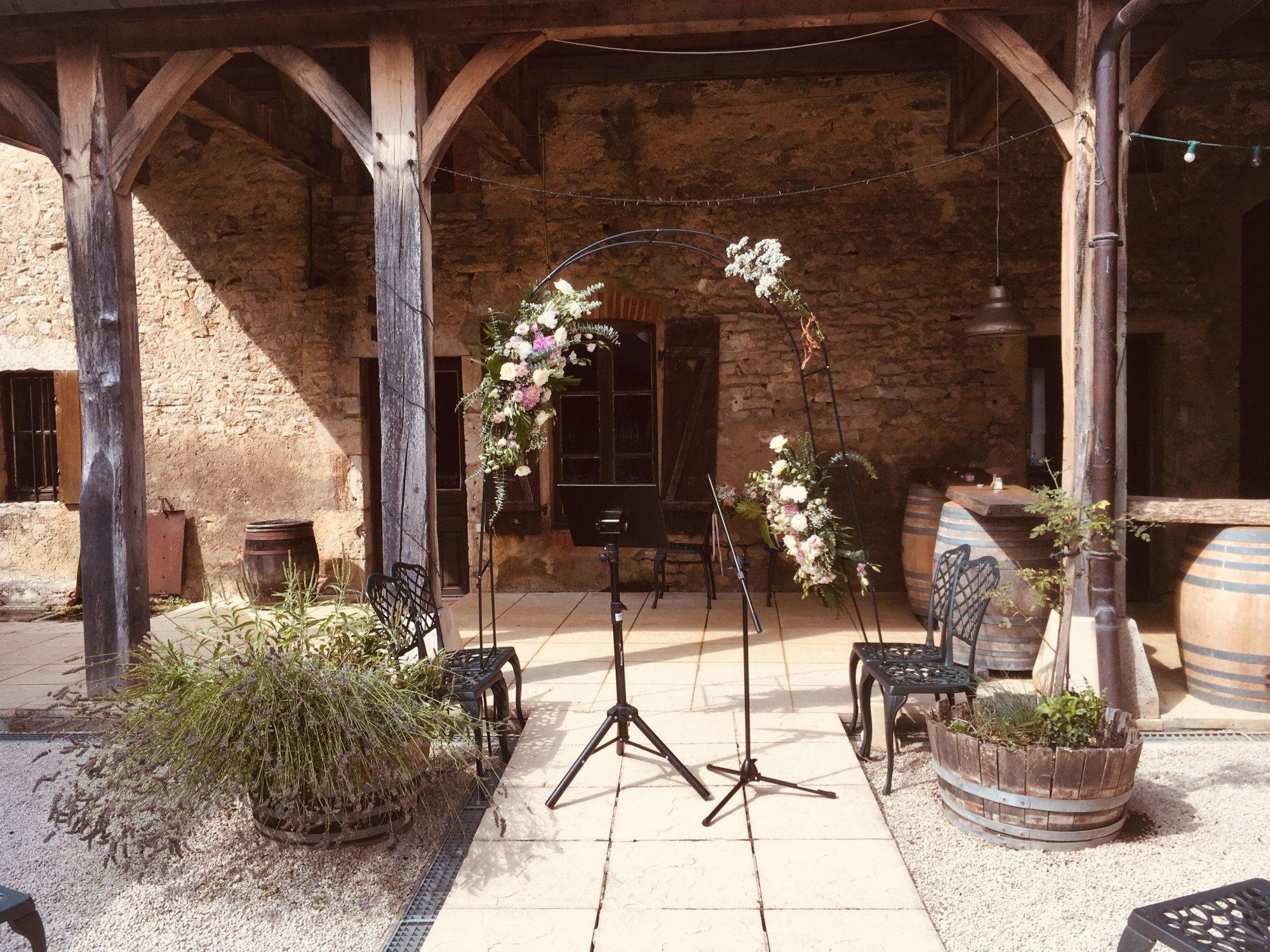 Arche nuptiale cérémonie laïque